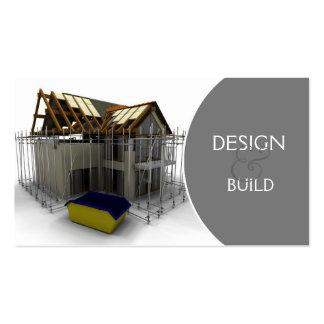 Cartes de visite architecte for Carte visite construction