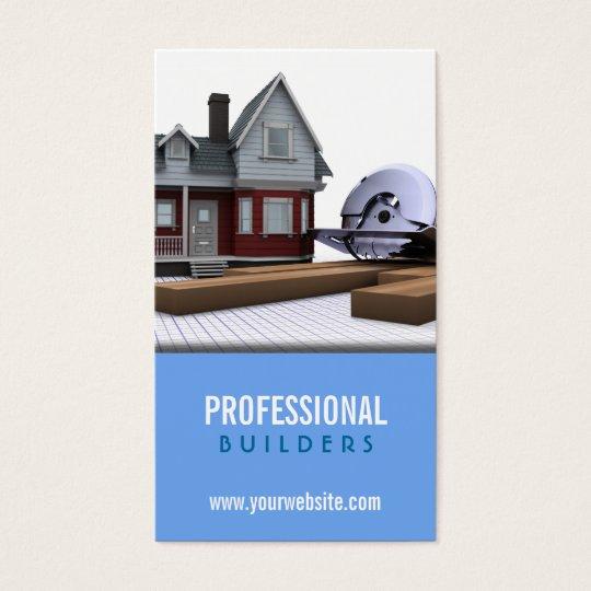 Carte de visite de construction constructeurs for Carte visite construction