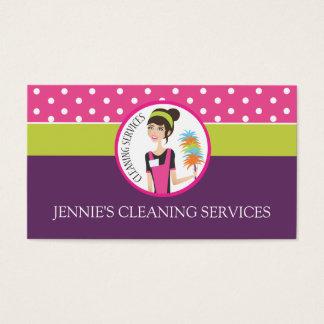 Carte de visite de domestique/femme de charge
