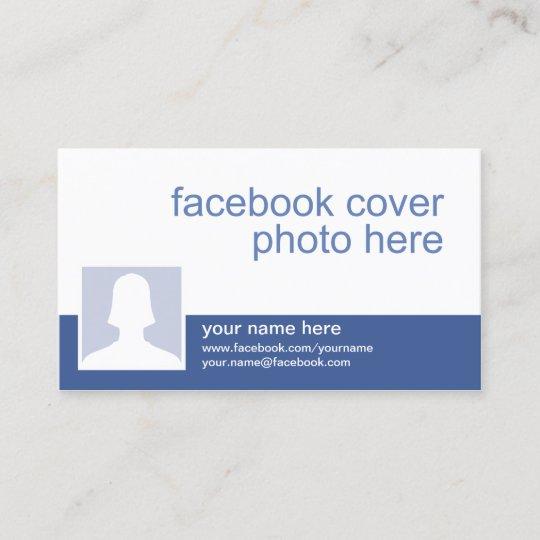 Carte De Visite Facebook CC0213