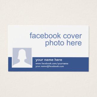 Carte de visite de Facebook CC0213