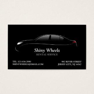 Carte de visite de location de voiture