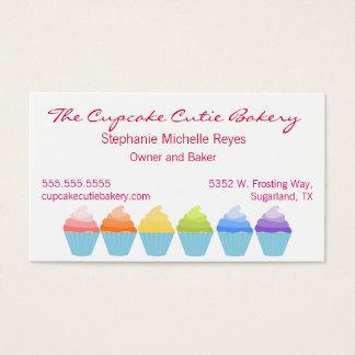 Carte de visite de petits gâteaux d'Ombre