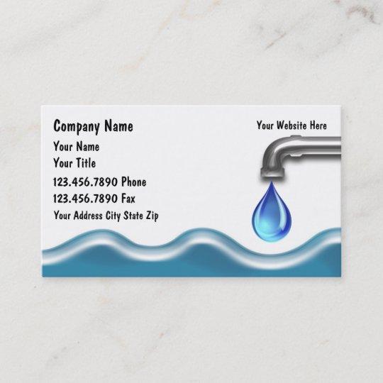 Carte De Visite De Plombier