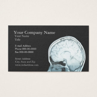 Carte de visite de rendez-vous de neurologue