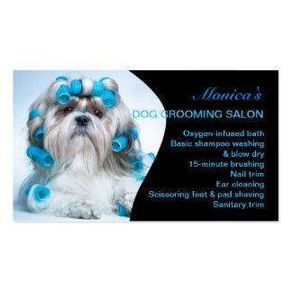 Cartes de visite toilettage chien toilettage chien cartes - Salon toilettage chien ...
