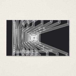 Carte de visite de style architectural