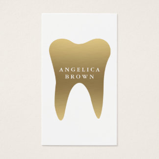 Carte de visite dentaire