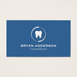 Carte de visite dentaire élégant