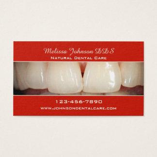 Carte de visite dentaire professionnel de