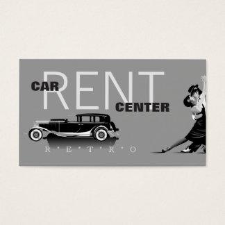 Carte de visite des véhicules à moteur/rétro de