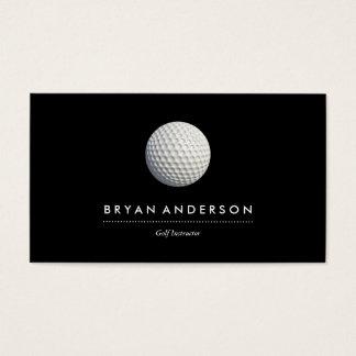 Carte de visite d'instructeur de golf