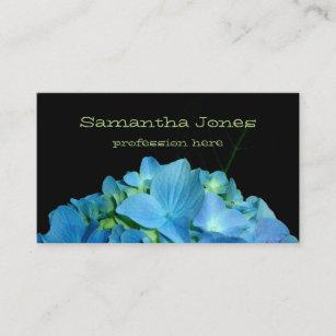 Carte De Visite Hortensia Bleu