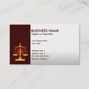 Carte De Visite Justice Professionnelle