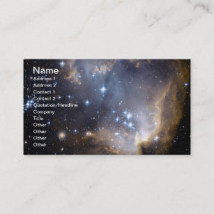 Carte De Visite La NASA Intelligente Dtoiles NGC 602
