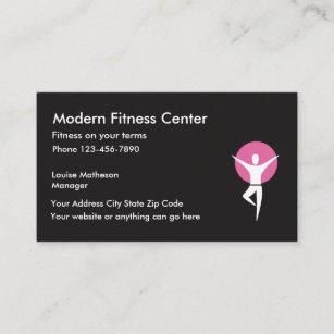 Carte De Visite Le Centre Fitness Tablissent Gymnase