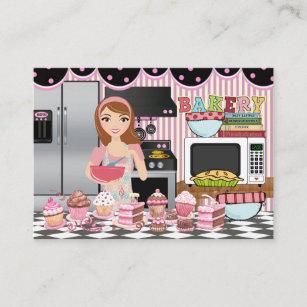Carte De Visite Le Chef Traiteur Boulangerie Heureux