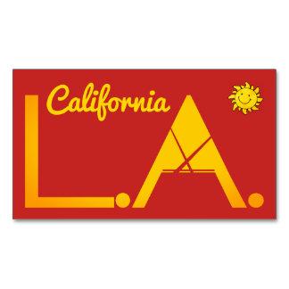 Carte De Visite Magnétique Los Angeles