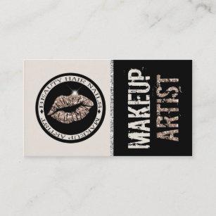 Carte De Visite Maquilleur Neutre Lvres Parties