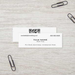 Cartes De Visite Qr Code Personnalisees