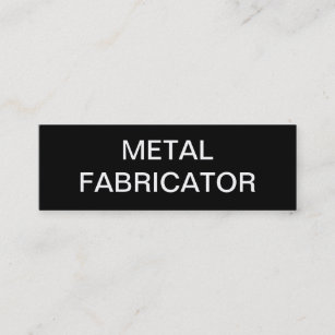 Carte De Visite Mini Constructeur En Metal