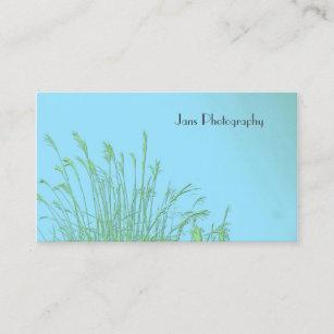 Carte De Visite Modle Businesscards Herbe Mauvaise