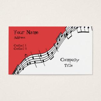 Carte de visite musical