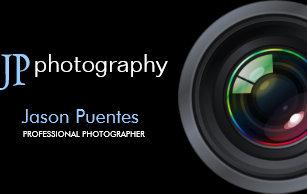 Carte De Visite Objectif Camra Professionnel Photographe