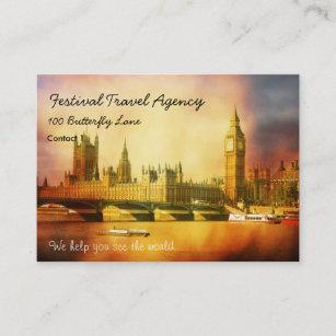 Carte De Visite Palais Et Pont Westminster Avec Big Ben