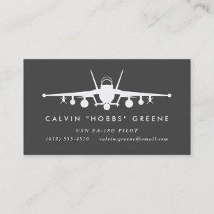 Carte De Visite Pilote Davion Chasse Vibreur DEA 18G