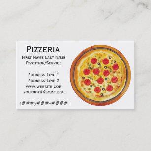 Carte De Visite Pizzeria