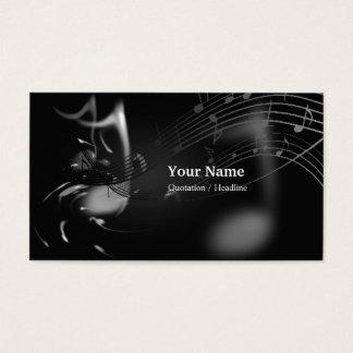 Carte de visite privé de professeur de musique
