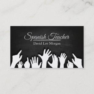 Carte De Visite Professeur Espagnol