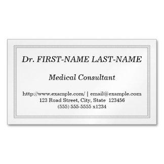 Carte de visite professionnel de conseiller