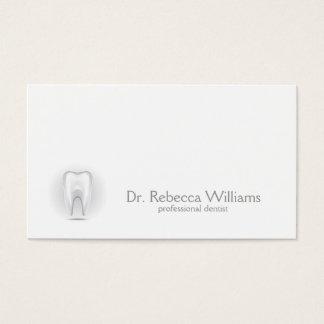 Carte de visite professionnel de dentiste