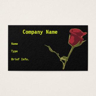 Carte de visite rose
