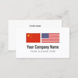 Carte De Visite Traducteur Anglais Chinois Service