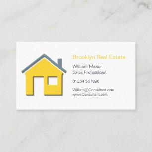 Carte De Visite Vrai Agent Immobilier Simple C Dicne La Maison
