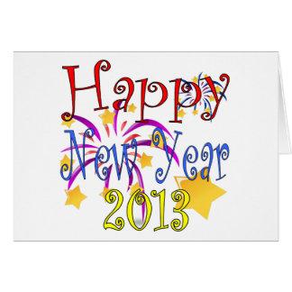 Carte de voeux 2013 de bonne année