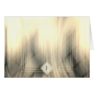 Carte de voeux abstraite fumeuse et fanée du
