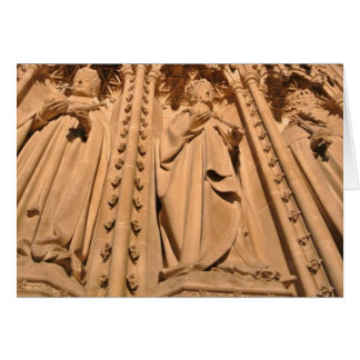 Carte de voeux, architecture, cathédrale de