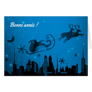 Carte de voeux Bonne Année, incluse d'enveloppe