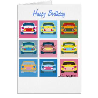 Carte de voeux classique de voiture