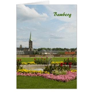 Carte de voeux de Bamberg