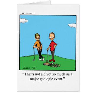 Cadeaux d anniversaire humour golf cartes for Carte de voeux humour