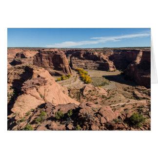 Carte de voeux de Canyon de Chelly