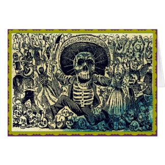 Carte de voeux de Dia De Los Muertos