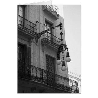 Carte de voeux de L'Exiample (Barcelone, Espagne)