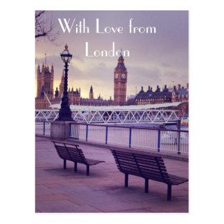 Carte de voeux de Londres