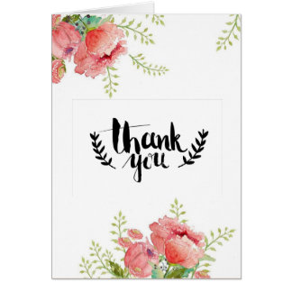 Carte de voeux de Merci